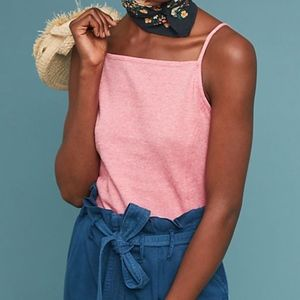 Meadow Rue By Anthropologie Pantego Buttoned Tank